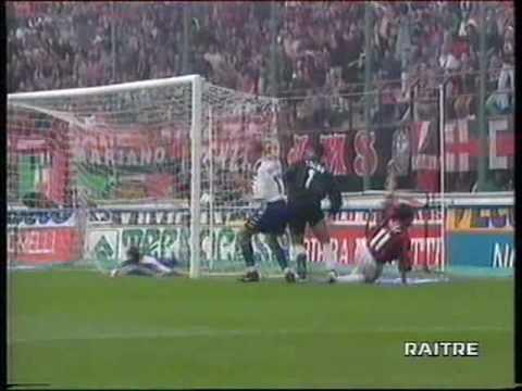 AC Milan vs Fiorentina 1-3 1998.09.26