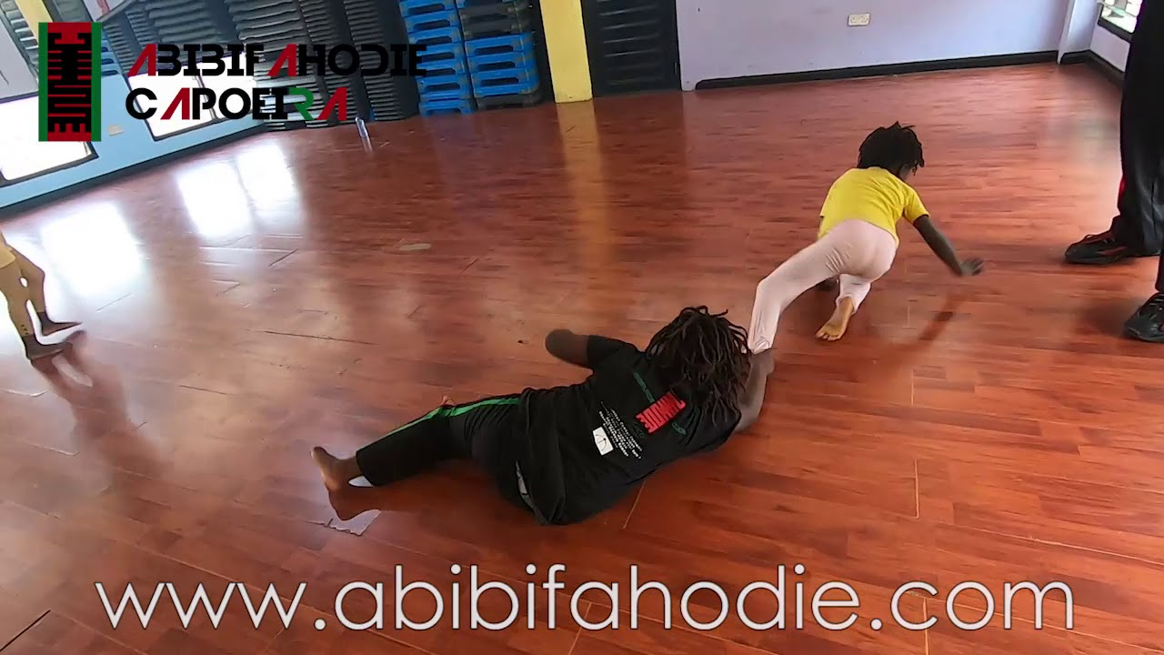 29 February 2020 Abibifahodie Capoeira End-of-Class Light Sparring