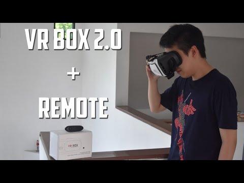 VR MURAH TAPI GAK MURAHAN - Unboxing Virtual Reality Box 2.0 + remote (Indonesia)
