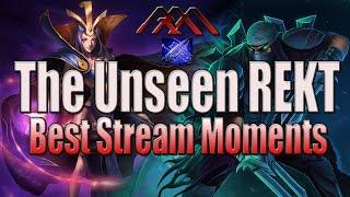 The Unseen REKT - Best Stream Moments - League of Legends