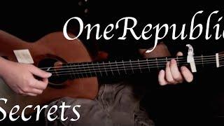 Kelly Valleau - Secrets (OneRepublic) - Fingerstyle Guitar