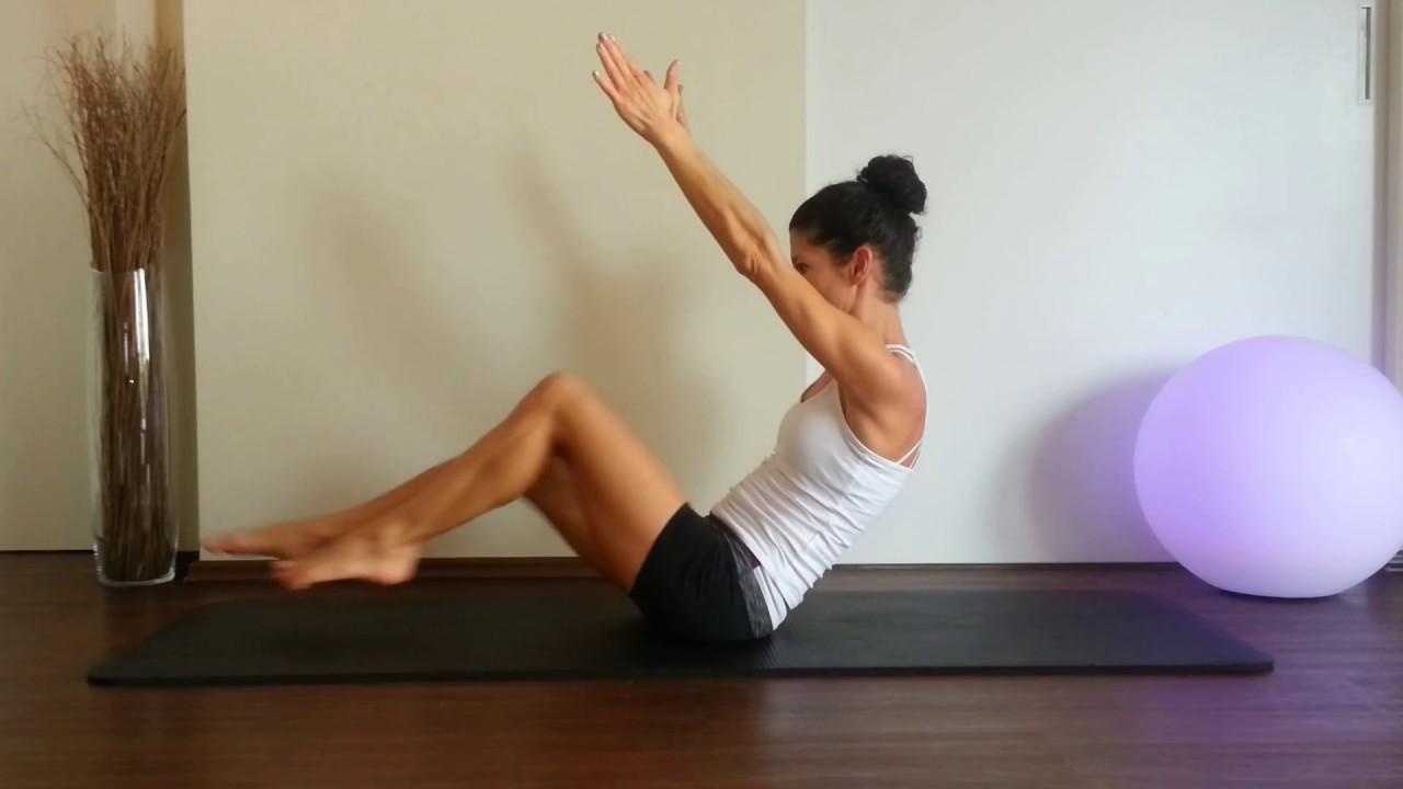 bauchmuskeltraining 8 effektive bungen f r einen straffen bauch pilatesmethode youtube. Black Bedroom Furniture Sets. Home Design Ideas