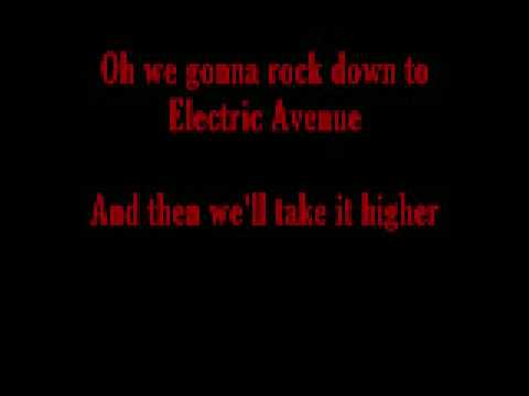 Electric Avenue with lyrics