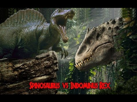 Spinosaurus vs Indominus Rex Biggest Fight Of Dino History ?