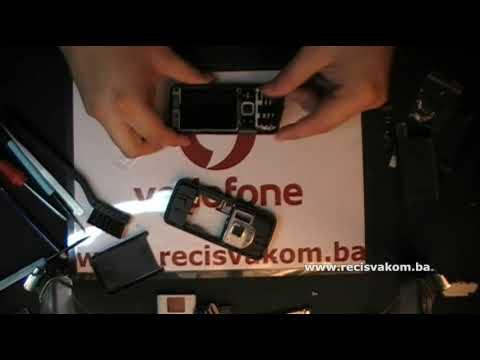 Prt 4: Nokia N82 Disassembly & Replace Cover / Rasklapanje & zamjena Oklopa