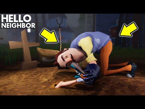 The Neighbor's *NEW* SHOCKING SECRET STORY!!!   Hello Neighbor Gameplay (Mods)  