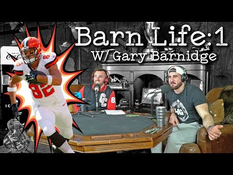The First Episode Of Austin Dillon's Barn Life! Special Guest Gary Barnidge