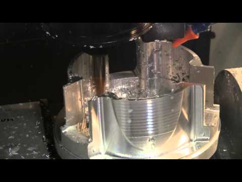 CVT transmission machining (CNC 5th axis mill project)