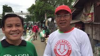 ADRA Philippines Actual na pamimigay ng 29,500 Kilos or 29.5 Tons ng Bigas.