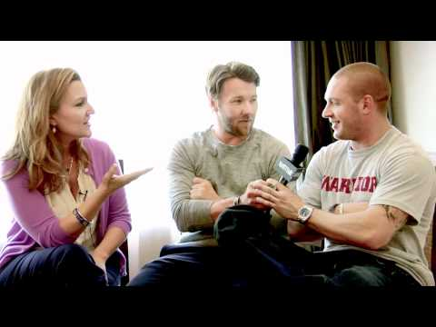 Vanity Fair interview with Joel Edgerton and Tom Hardy at Comic Con 2011