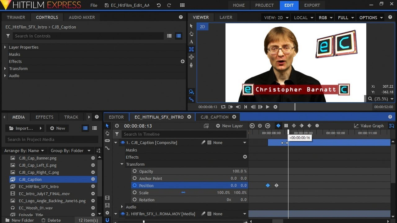 motion graphics and compositing video Compositing video is a facet of a motion graphic that is used a lot in the media industry there are two types of compositing video related and graphics related.