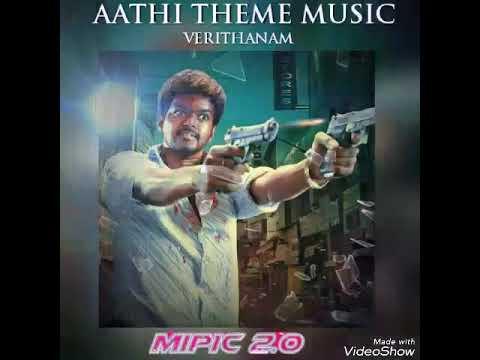 Vijay |Aathi Theme music - Mipic
