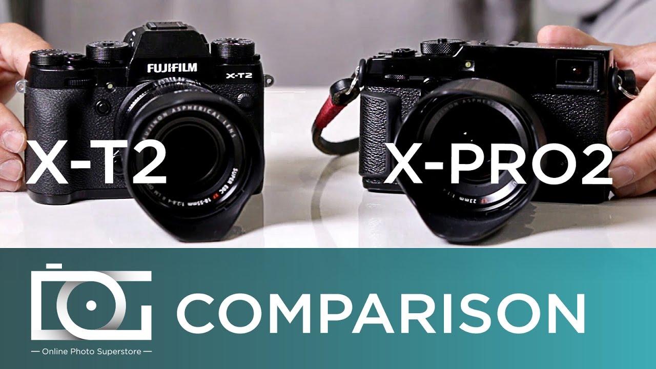 Fujifilm X-T2 vs Fujifilm X Pro 2 | Comparison Review Video | Best Fujifilm  Camera 2017