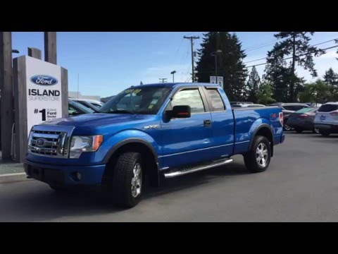 2009 ford f 150 fx4 supercab 4x4 review island ford youtube. Black Bedroom Furniture Sets. Home Design Ideas