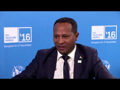 ITU TELECOM WORLD 2016: Neypatraiky André Rakotomamonjy, Ministre des Posts, Madagascar