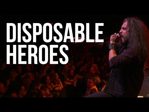 """Metallica """"Disposable Heroes"""" cover by Mark Osegeuda + Metal Allegiance live"""