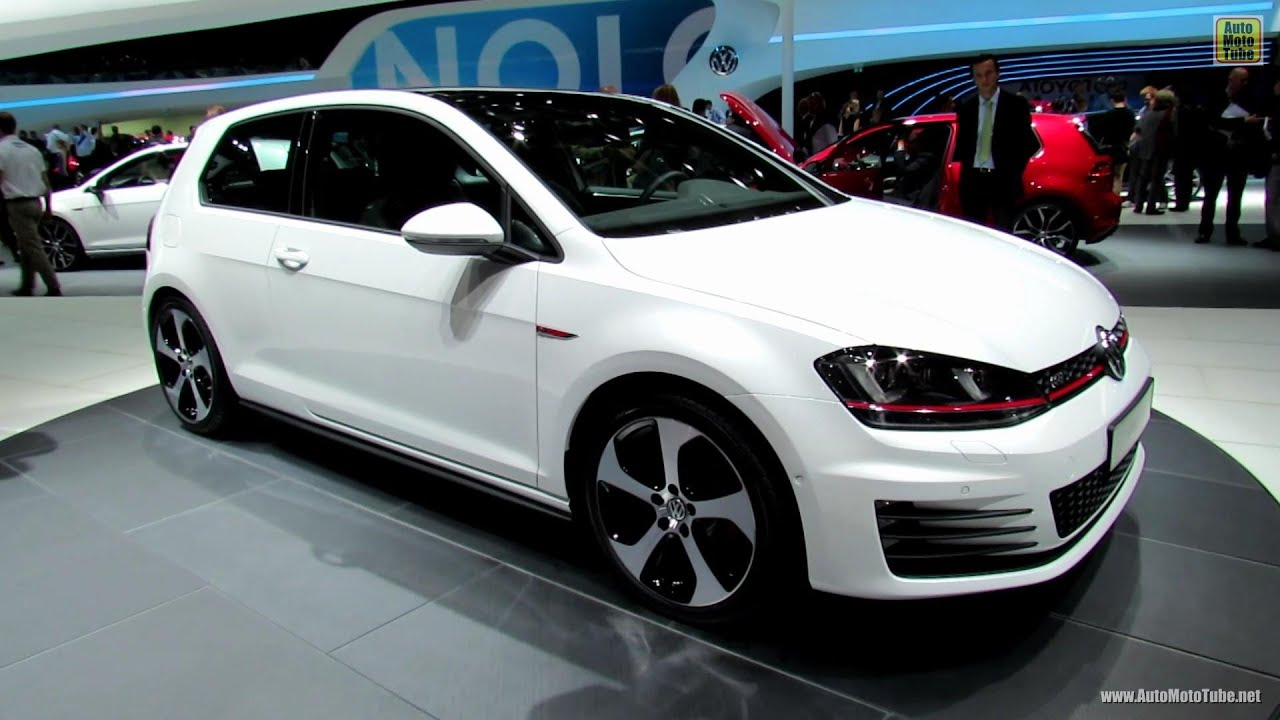 Volkswagen Golf GTI Exterior And Interior Walkaround - 2013 volkswagen golf gti interior