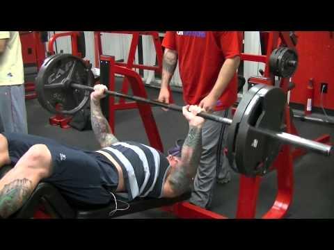 Good Form = Good Mass Decline Barbell Bench Press - YouTube