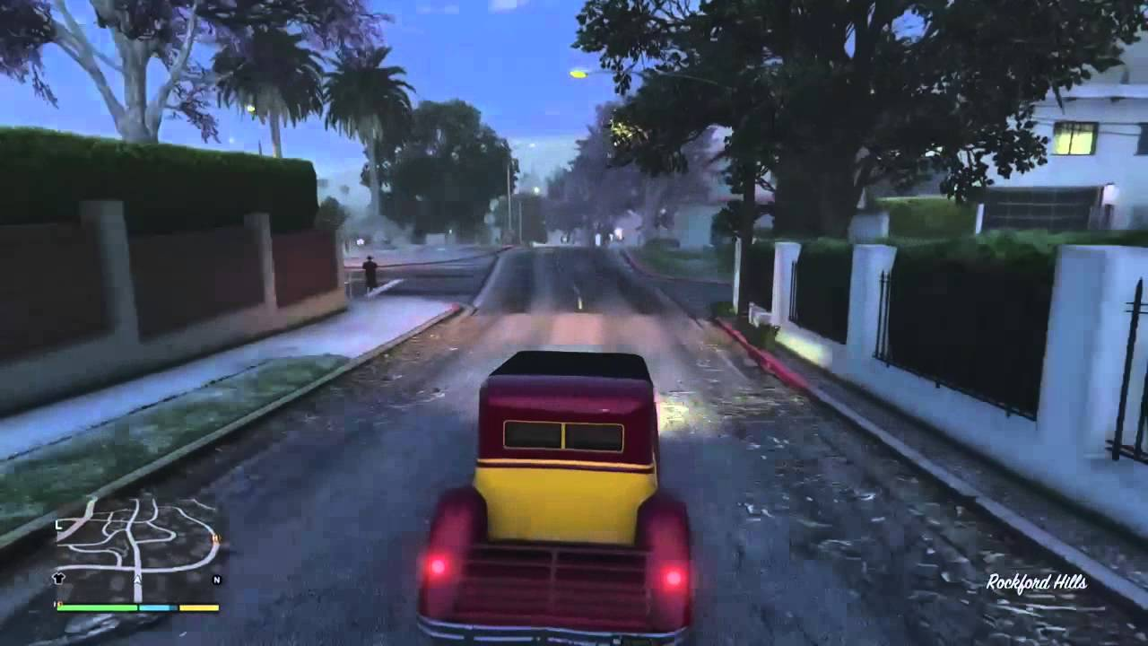 Rare And Secret Hidden Cars In Gta 5 Story Mode Youtube