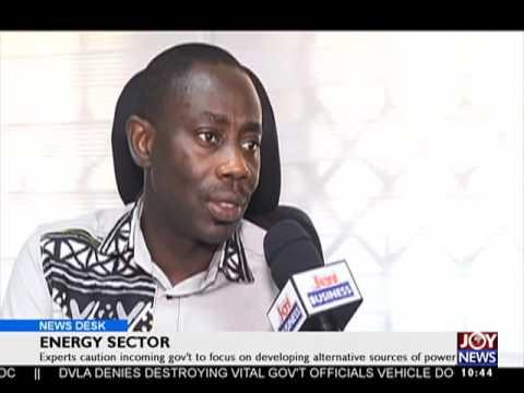 Energy Sector - Business Desk on Joy News (16-12-16)