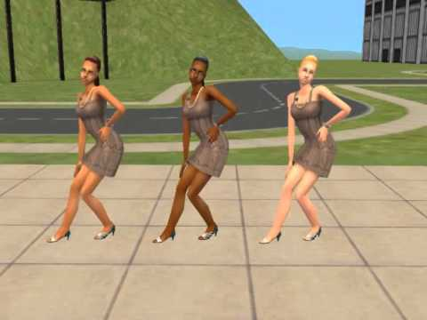 Mod the sims 2 dance moves learn it youtube for Mods sims 4 muebles