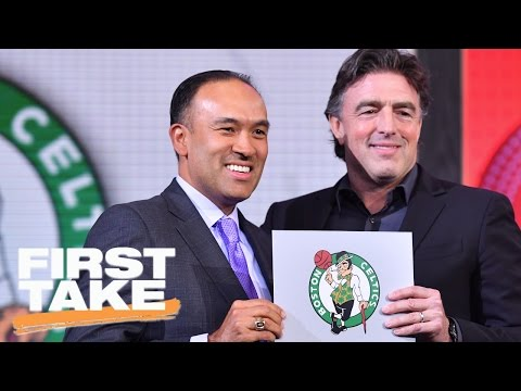 Which 2017 NBA Draft Pick Could Help Celtics Eclipse Cavaliers? | First Take | May 17, 2017