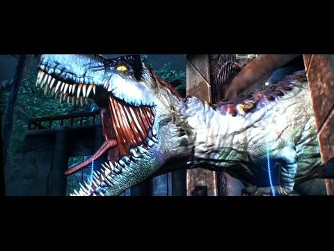 Jurassic Park Arcade Motion DX Video Game - BOSA 2015 Gold Award - BMIGaming - Raw Thrills