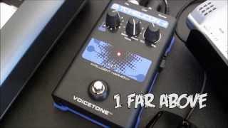 TC-Helicon Voicetone H1 Intelligent Vocal Harmony Device