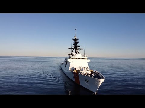 USCGC Stone Departs For First Patrol