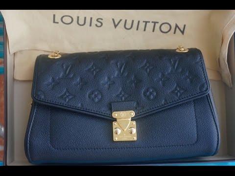 b71df1083886 Моя новая сумка Louis Vuitton St Germain bag - YouTube