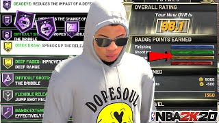 *NEW* NBA 2K20 2X BADGE GLITCH MAX ALL BADGES FAST AND EASY! AFTER PATCH 1.10!PS4 XB1