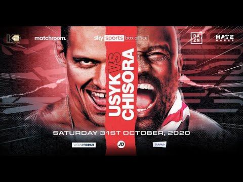 Oleksandr Usyk vs Derek Chisora confirmed for Oct 31 2020