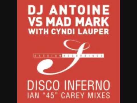 DJ Antoine Vs Mad Mark With Cyndi Lauper - Disco Inferno