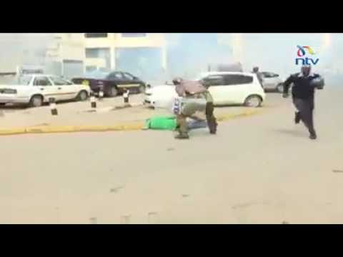 Kenyan riots, dont mess with the police
