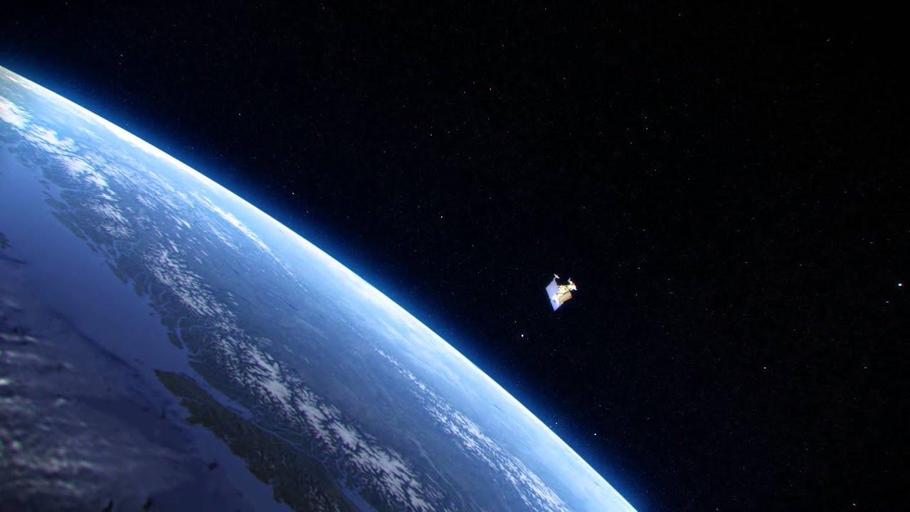 trmm satellite orbiting earth wide youtube