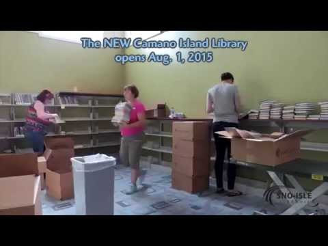 The NEW Camano Island Library - Getting Ready for the Grand Opening