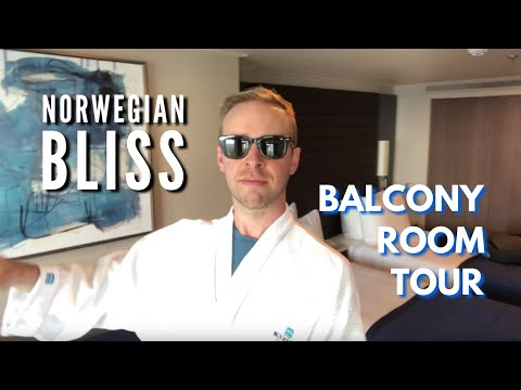 Norwegian Bliss Cabin and Observation Deck Tour