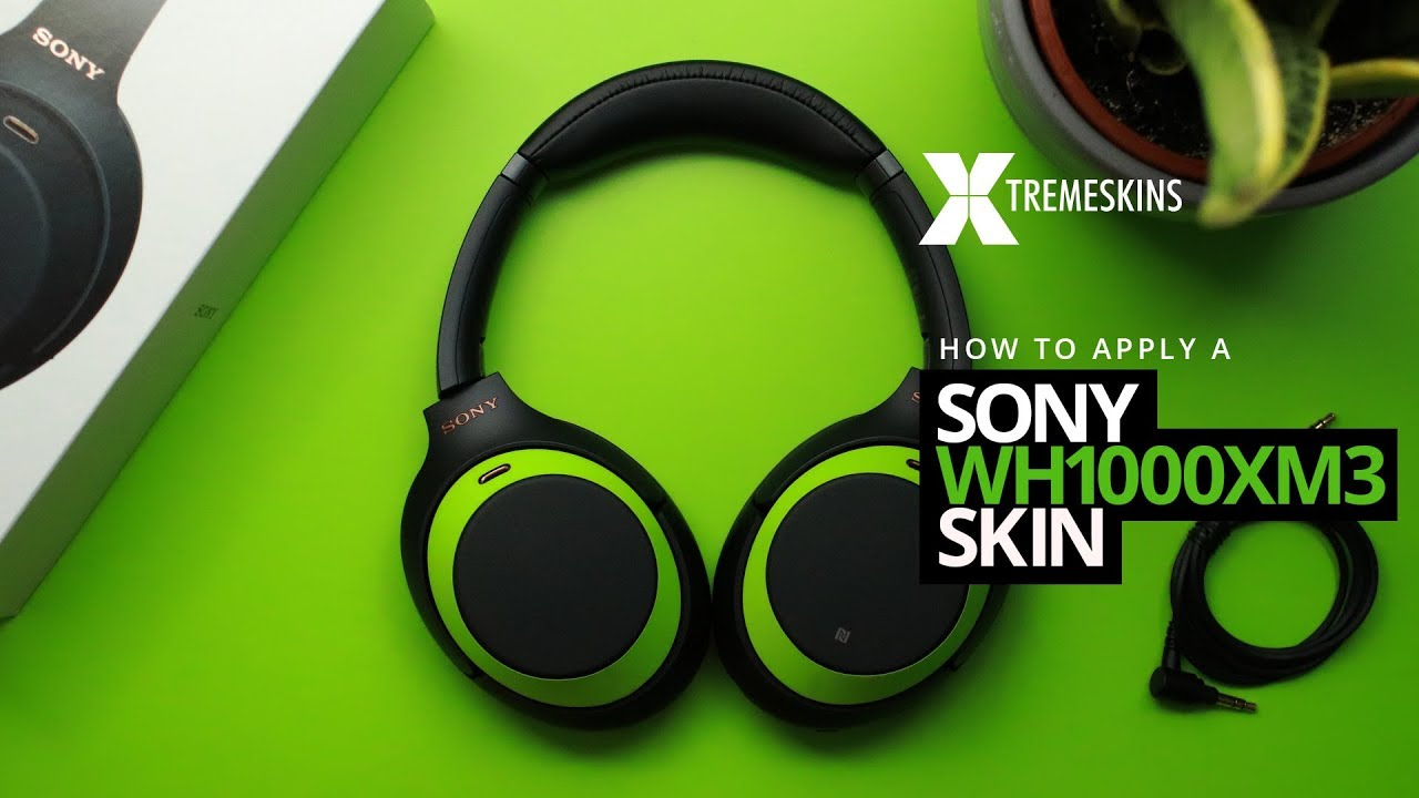 How to apply a Sony WH1000XM3 skin   XtremeSkins