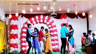 2018-19 B.com welcome party ramp walk and couple dance..