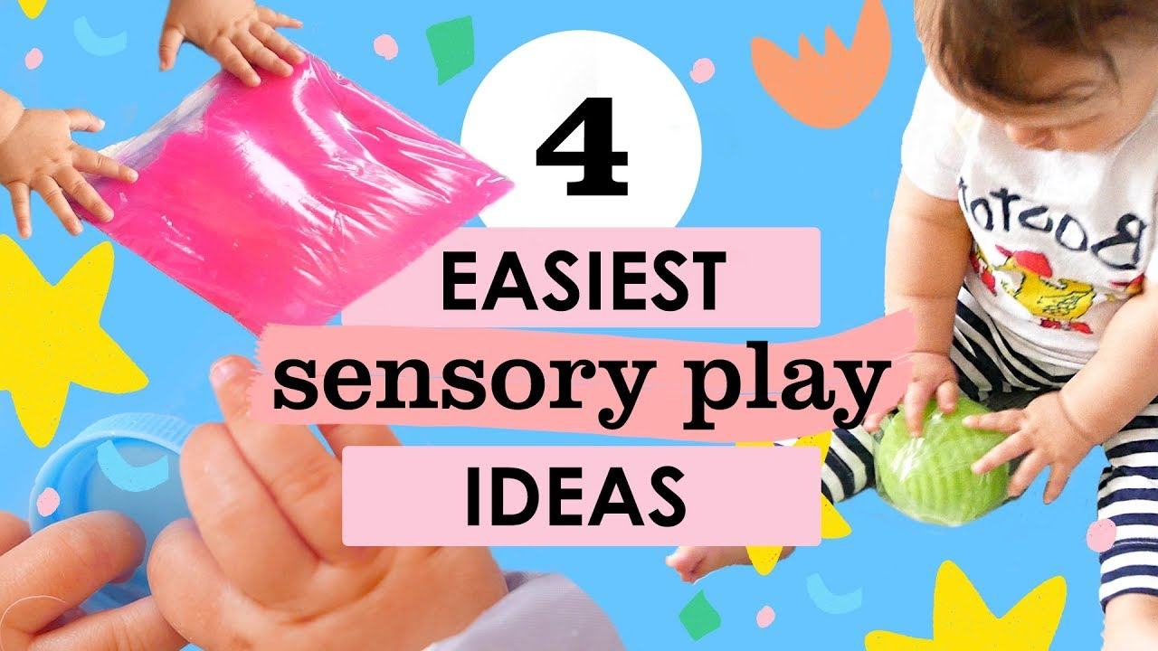 Easy DIY Sensory Play Ideas: Infants (3-9 months)