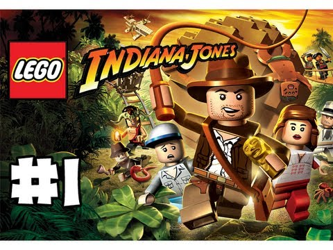 LEGO Indiana Jones - The Original Adventure - Part 1 -  Crocky! (HD Gameplay Walkthrough)