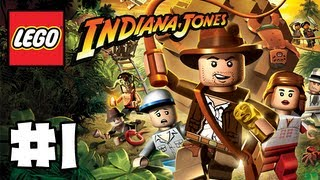 Video LEGO Indiana Jones - The Original Adventure - Part 1 -  Crocky! (HD Gameplay Walkthrough) download MP3, 3GP, MP4, WEBM, AVI, FLV April 2018