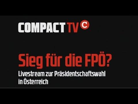 Aufzeichnung: COMPACT-TV Live nach der Wahl in Österreich