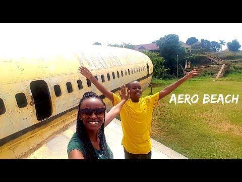 Aero Beach  Uganda   Travel Vlog