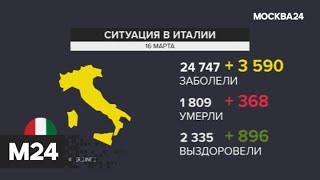 Число инфицированных коронавирусом в мире приблизилось к 170 тысячам человек - Москва 24