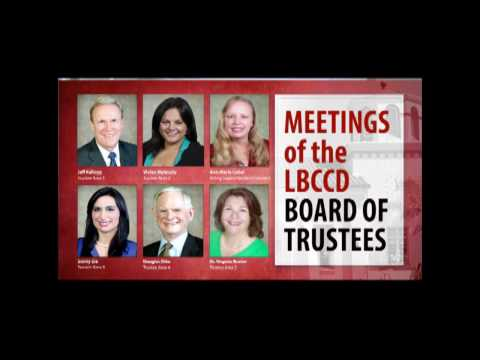 LBCCD  Board of Trustees Meeting  April 25, 2017