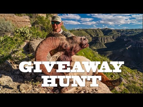 Desert Bighorn On The Border Of Mexico! Huntin' Fool Giveaway Hunt With High West Outfitters