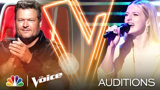 """Payton Lamar Sings Tori Kelly and Kirk Franklin's """"Never Alone"""" - The Voice Blind Auditions 2020"""