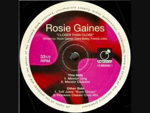 Rosie Gaines Closer Than Close Frankie Knuckles Clas