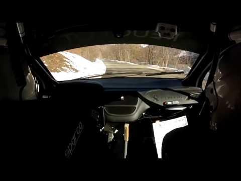 Rallye Monte Carlo 2016 onboard SS4 Peugeot208 R2 + crash